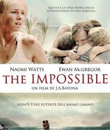"""ΚΙΝΗΜΑΤΟΓΡΑΦΟΣ ΜΑΓΙΑ: """" THE IMPOSSIBLE"""""""