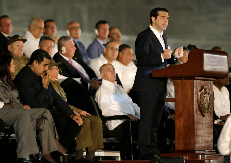Ο επικήδειος Τσίπρα για τον Κάστρο: Συγκρίνει τον Φιντέλ με την ελληνική επανάσταση του 1821! [βίντεο]