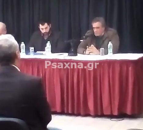 Ψαθάς για Λάρκο στην σύσκεψη του Δήμου Λοκρών: «Κάποιοι  χρησιμοποιούν την εταιρεία.Αν αυτό δεν εξυγιανθεί η εταιρία δεν έχει αύριο...» (video)