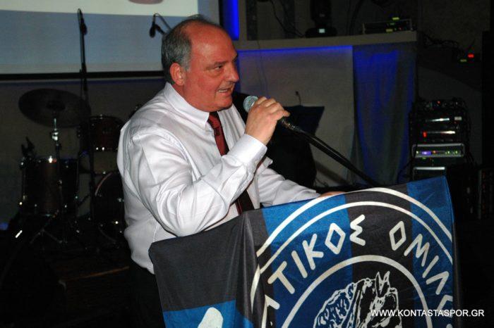 Γιωργος Τσαγκαρης:Αναλαμβανω την Διοικηση του ΑΟ Χαλκις!