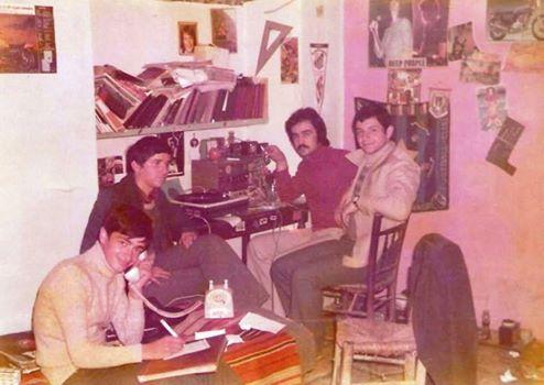 1974 στον ραδιοφωνικό σταθμό Ψαχνών !