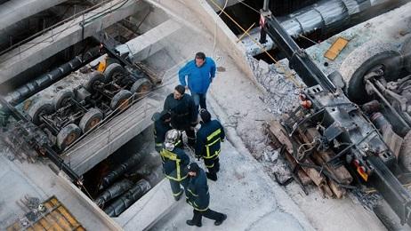 Δυστύχημα-σοκ στο μετρό Θεσσαλονίκης