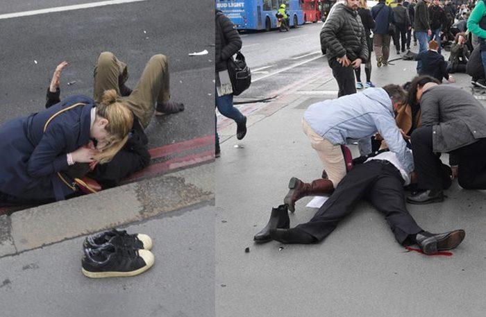 Διπλή επίθεση στο Λονδίνο - Τέσσερις νεκροί - Φωτογραφίες σοκ