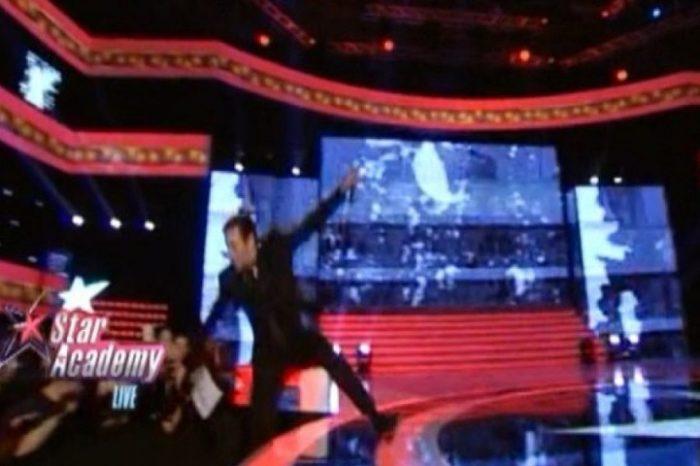 Star Academy: Η απίστευτη γκάφα του Φουρθιώτη και η τούμπα του τραγουδιστή on air ! Δείτε το video....!
