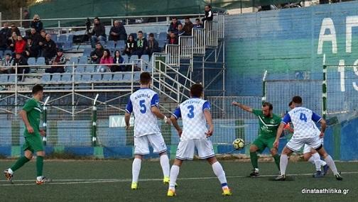 Καστέλλα-Δροσιά 1-2