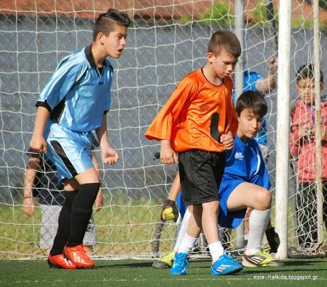 Πρόγραμμα αγώνων ποδοσφαίρου  Δημοτικών σχολείων Δήμου Διρφύων Μεσσαπίων 2017