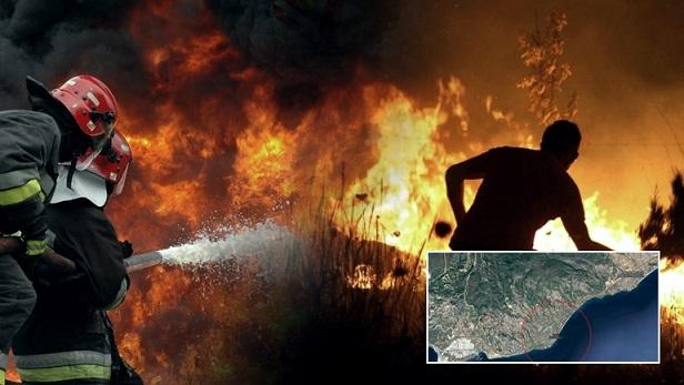 Ένας νεκρός στην πυρκαγιά των Αγίων Θεοδώρων