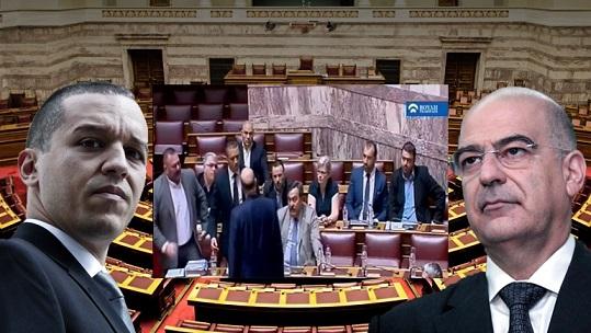 Aκροδεξιά χειροδικία στη Βουλή