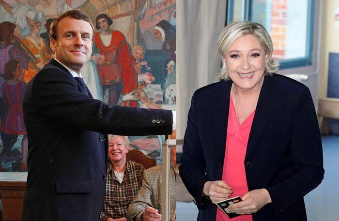 Σαρωτικό προβάδισμα Μακρόν στους ψηφοφόρους εκτός Γαλλίας