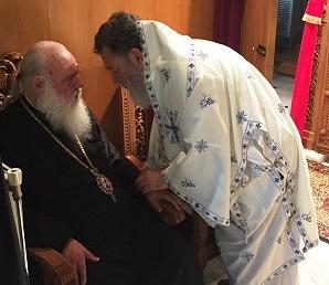 O Mακαριότατος Αρχιεπίσκοπος Αθηνών και πάσης Ελλάδος κ. Ιερώνυμος στα Ψαχνά