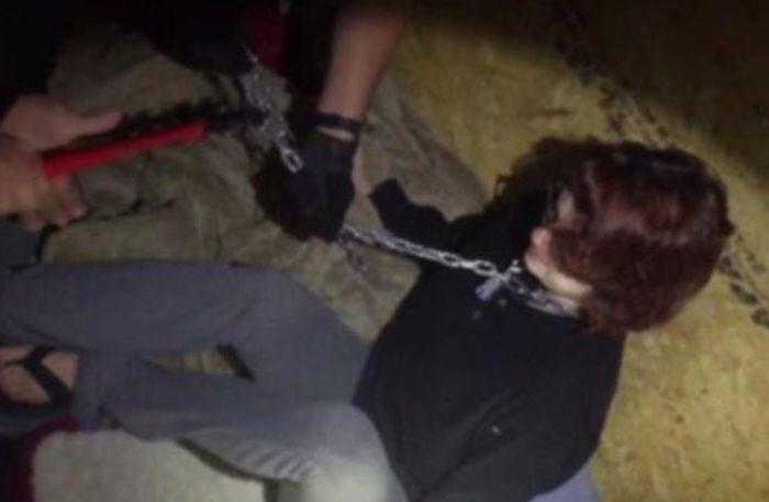 Η συγκλονιστική στιγμή της απελευθέρωσης μιας γυναίκας που ήταν αιχμάλωτη του βιαστή της επί δύο μήνες! (video)