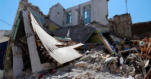 Λέσβος: Αυτό είναι το μοναδικό ελληνικό σούπερ μάρκετ που έστειλε βοήθεια στους σεισμόπληκτους