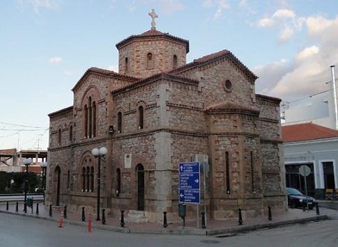 «Ιστορικά και αρχιτεκτονικά στοιχεία του Ιερού Ναού της Μεταμορφώσεως του Σωτήρος στα Ψαχνά»