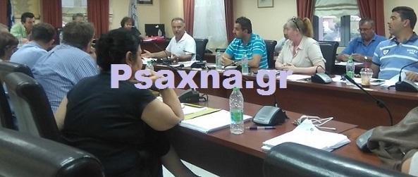 Την Τετάρτη (23/8) η συνεδρίαση του Δημοτικού συμβουλίου