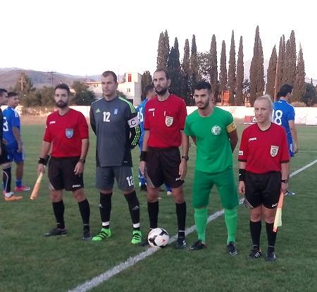 Ηρακλής Ψαχνών-Εθνική Ενόπλων Δυνάμεων Ελλάδος 1-1 (φωτογραφίες)