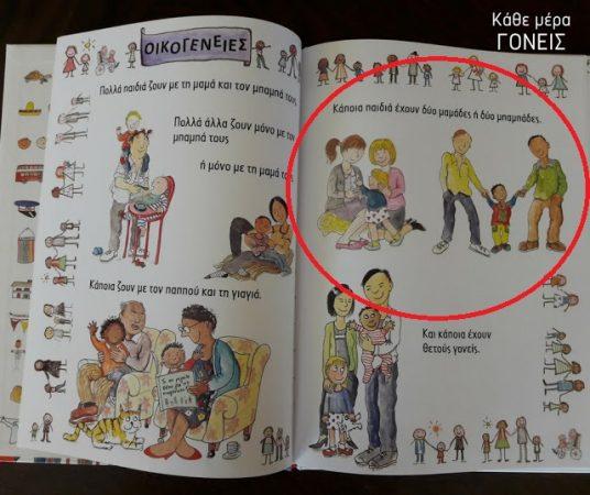 Λίγο πριν την σχολική χρονιά: Το πρώτο βιβλίο με ομοφυλόφιλα ζευγάρια και πρόσφυγες που απευθύνεται σε Ελληνόπουλα