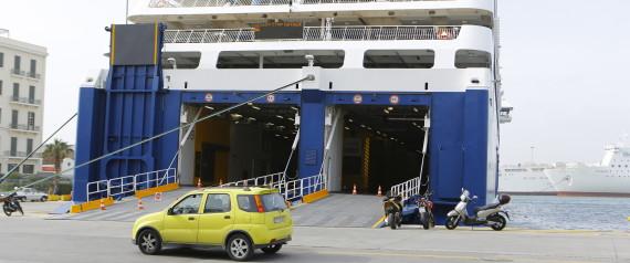 Η πρόσκρουση του Blue Star «Patmos» λίγο πριν το λιμάνι της Ίου