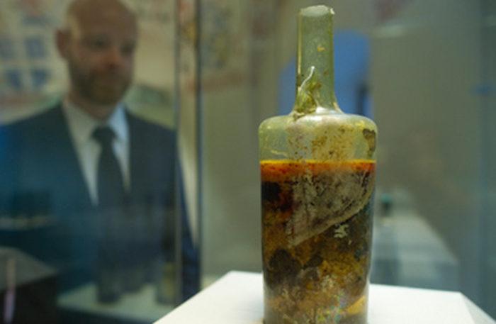 Το παλαιότερο κλειστό μπουκάλι κρασιού παραμένει σφραγισμένο από τον 4ο αιώνα