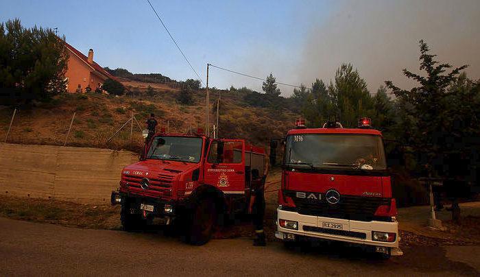 Ενενήντα μια πυρκαγιές σε όλη χώρα το περασμένο 24ωρο