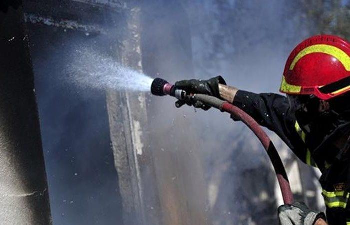 Κακοπέρατο: «Φιλανδικό» σπίτι  άρπαξε φωτιά  από βραχυκύκλωμα