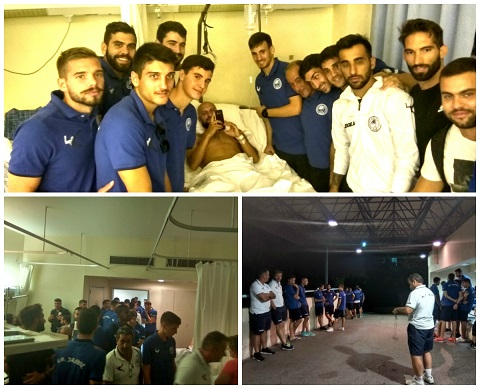 AO Xαλκίς: «Πετυχημένη η εγχείρηση-επίσκεψη της ομάδας»