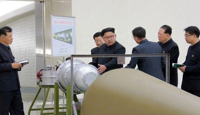 Ευθεία πρόκληση: Η Β. Κορέα δοκίμασε επιτυχώς βόμβα υδρογόνου σε διηπειρωτικό πύραυλο