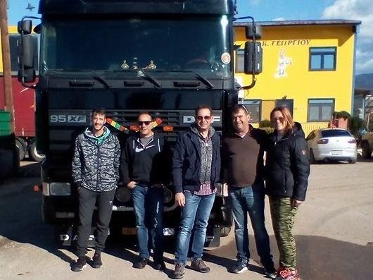 Ένα φορτηγό με φαγητό ρούχα και είδη πρώτης ανάγκης έστειλαν οι Ψαχνιώτες στους πληγέντες της Δυτικής Αττικής (φωτογραφίες)