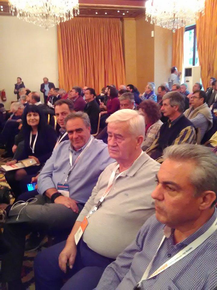 Ψαθάς-Ματράκας-Σπαθής-Ράζος και Μύταλα  στο ετήσιο συνέδριο της ΚΕΔΕ στα Ιωάννινα 24272946 1465075150279572 2041475608 n