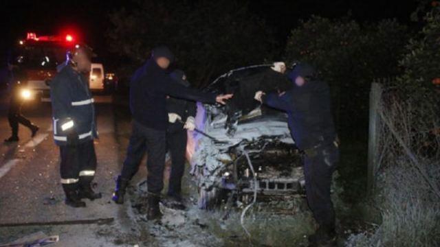Τροχαίο δυστύχημα στη Θήβα -Ενας νεκρός, τρεις τραυματίες