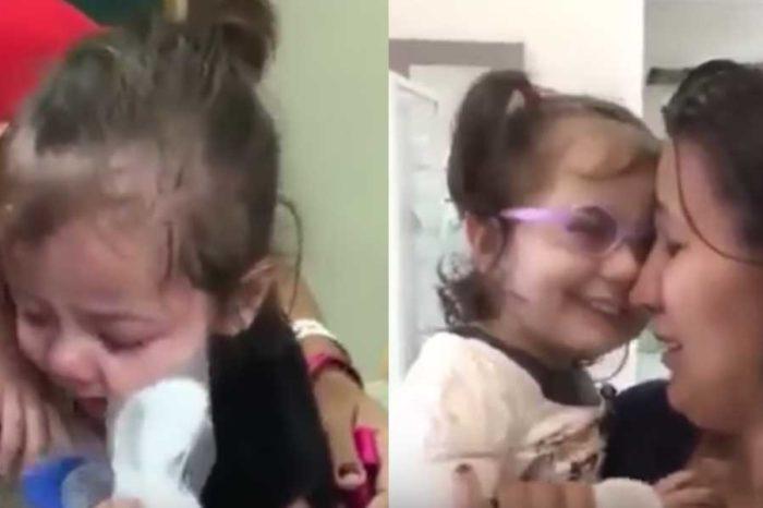 Τυφλό κοpιτσάκι βλέπει για πρώτη φορά μετά από μεταμόσχευση ματιών