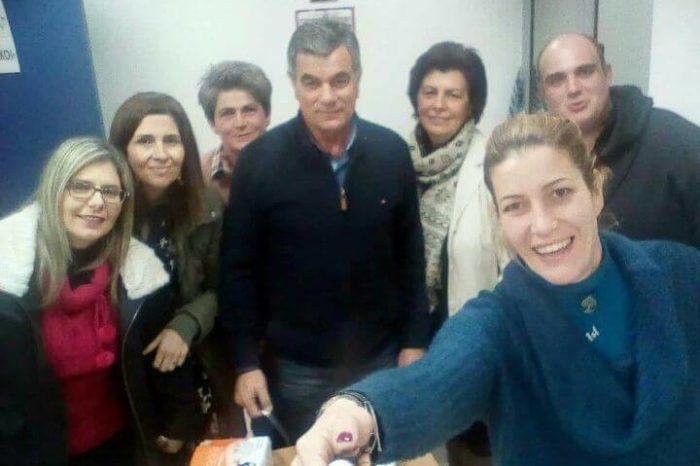 Συναντήθηκε και έκοψε την πρωτοχρονιάτικη πίτα της η επιτροπή αιμοδοσίας του Δήμου Διρφύων Μεσσαπίων