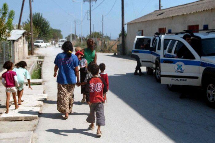 Πρωινή έφοδος  της Αστυνομίας στον καταυλισμό των ΡΟΜΑ στην Καστέλλα