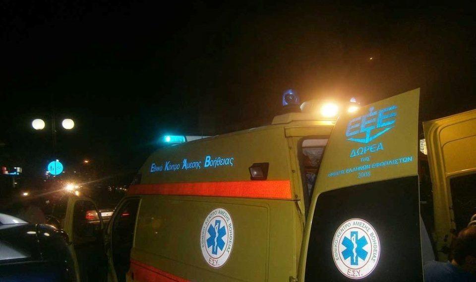 Τραυματίστηκε Υπάλληλος του Δήμου Διρφύων Μεσσαπίων από φωτιά που άρπαξε το τζάκι του σπιτιού του