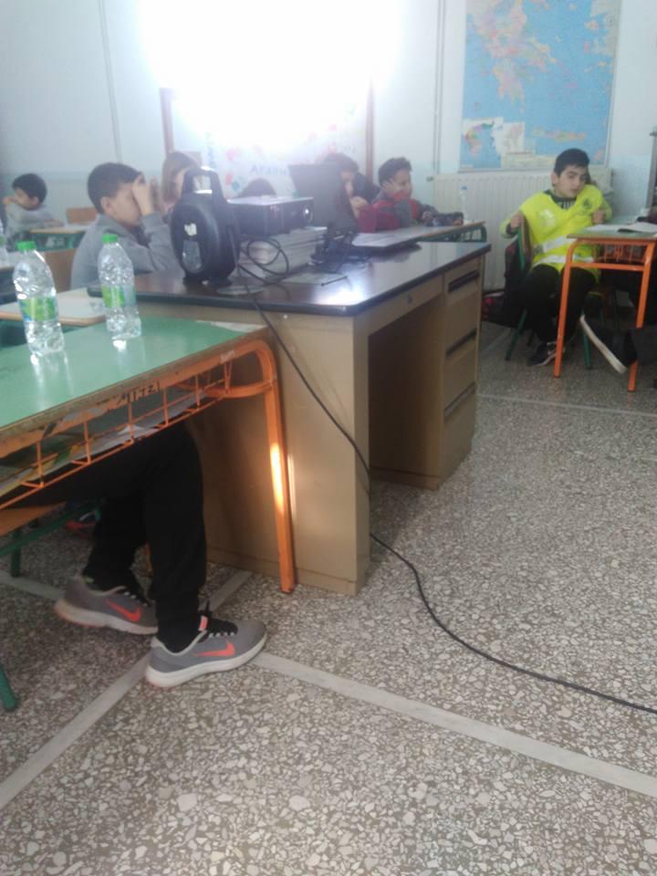 Δημοτικό σχολείο Βατώντα: Τίμησαν την μνήμη του ολοκαυτώματος                     2