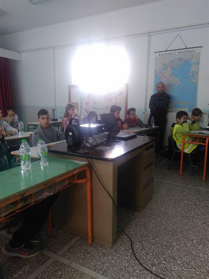 Δημοτικό σχολείο Βατώντα: Τίμησαν την μνήμη του ολοκαυτώματος                     3