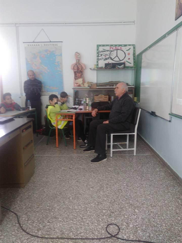 Δημοτικό σχολείο Βατώντα: Τίμησαν την μνήμη του ολοκαυτώματος                     4