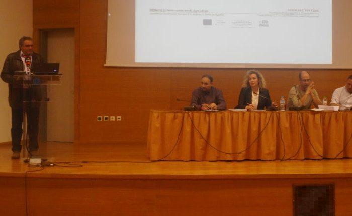 Η παρουσία του Δημάρχου Διρφύων-Μεσσαπίων σε εκδήλωση για τη μαθητεία στα ΕΠΑ.Λ.