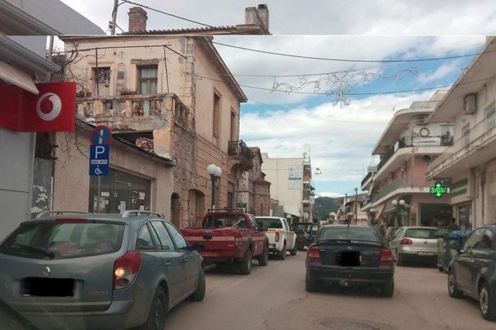 Επιμένουν να παρκάρουν αντικανονικά  τα υπηρεσιακά αυτοκίνητα του Δήμου