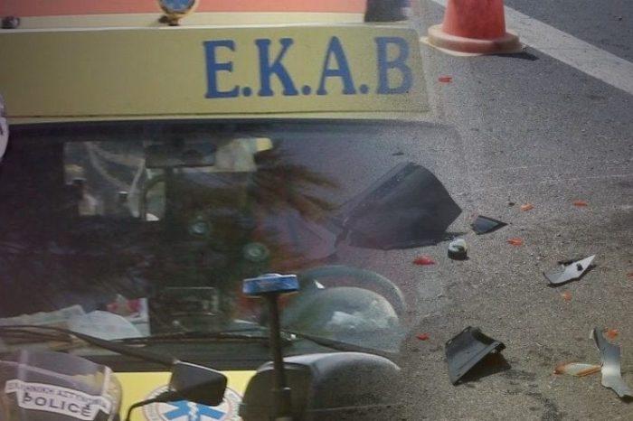 Τροχαίο στην Αρτάκη.Τραυματίστηκε  νεαρός οδηγός μηχανής  από την Καστέλλα