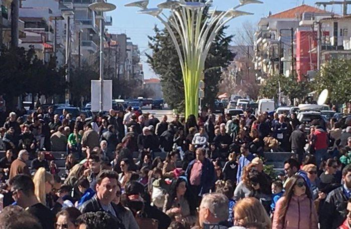 Συλλαλητήριο στην Ορεστιάδα για τους δύο Έλληνες στρατιωτικούς