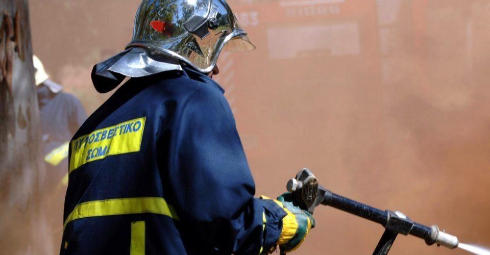 Δύο φωτιές στα Ψαχνά.Συνελλήφθη ζευγάρι Ψαχνιωτών για εμπρησμό