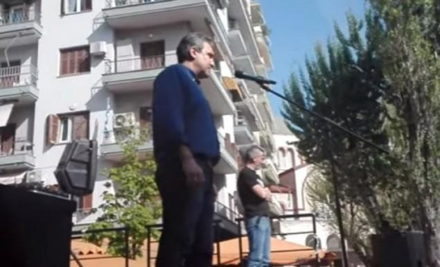 Βουλευτής τραγουδάει μαζί με  οπαδούς του ΠΑΟΚ:«Nα καεί να καεί η π@@@άνα η Βουλή» ! (video)