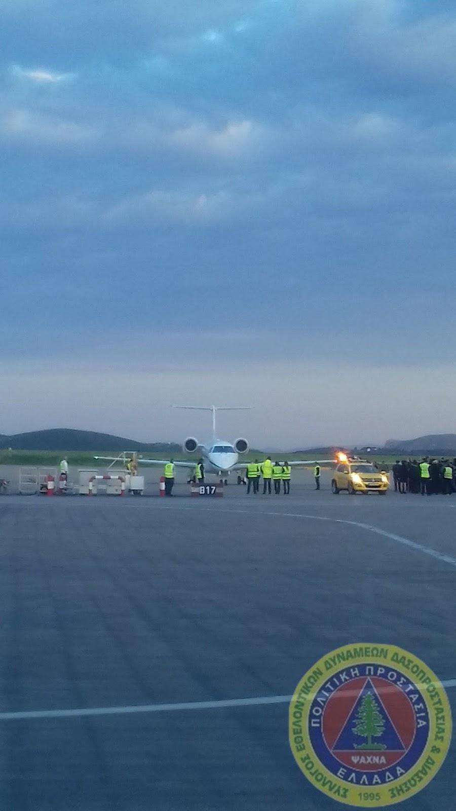 Εθελοντές του ΣΕΔΔΔ Ψαχνών έφεραν το «Άγιο φως» από το αεροδρόμιο σε Χαλκίδα-Μακρυμάλλη και Ψαχνά 20180407 192758