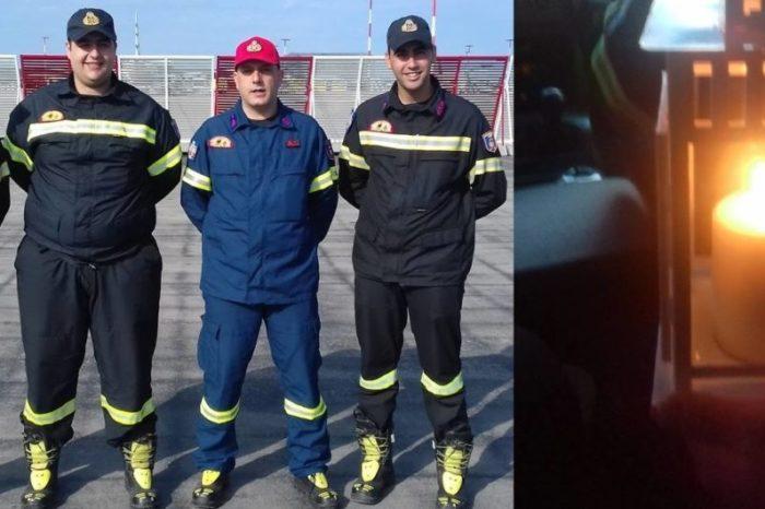 Εθελοντές του ΣΕΔΔΔ Ψαχνών έφεραν το «Άγιο φως» από το αεροδρόμιο σε Χαλκίδα-Μακρυμάλλη και Ψαχνά