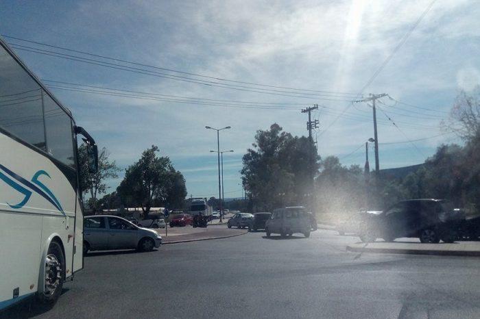 Χαλκίδα:Φορτηγό  παρέσυρε και σκότωσε πεζό στον κόμβο του Αγίου Στεφάνου