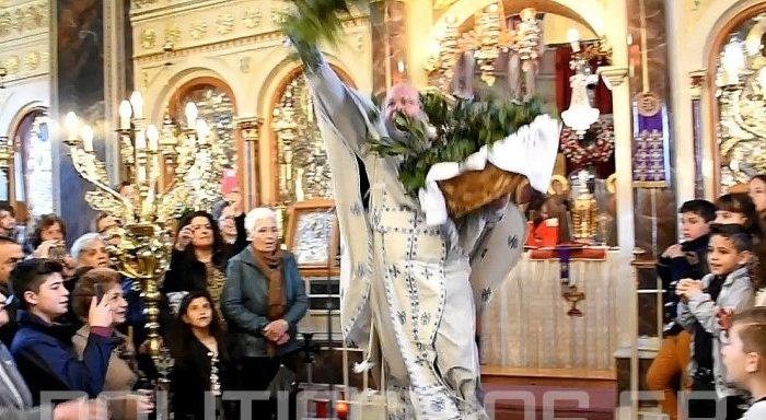 Ο «ιπτάμενος» παπάς της Χίου έκλεψε πάλι την παράσταση με την έξοδο του ! (video)