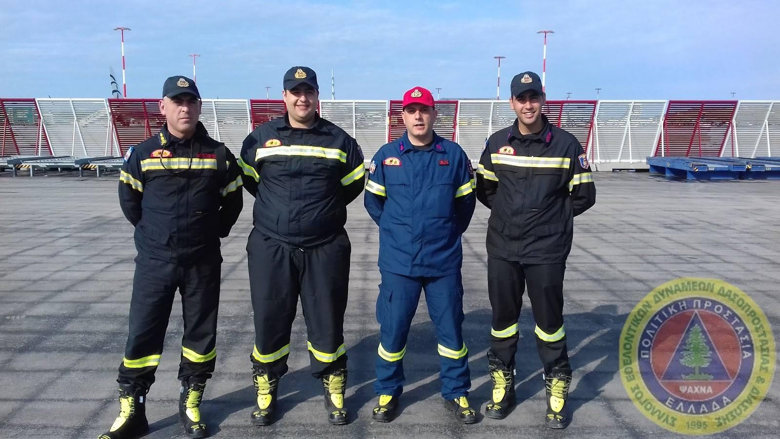 Εθελοντές του ΣΕΔΔΔ Ψαχνών έφεραν το «Άγιο φως» από το αεροδρόμιο σε Χαλκίδα-Μακρυμάλλη και Ψαχνά 6 1