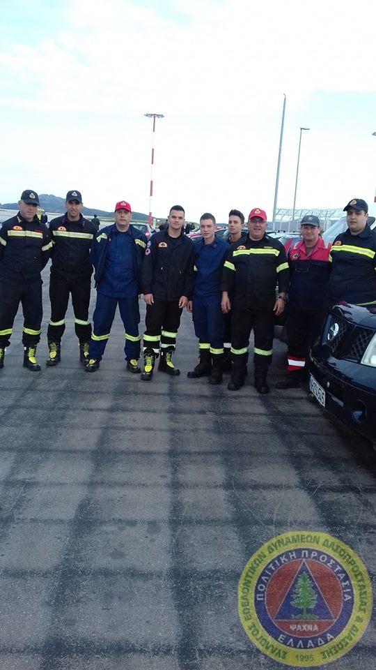 Εθελοντές του ΣΕΔΔΔ Ψαχνών έφεραν το «Άγιο φως» από το αεροδρόμιο σε Χαλκίδα-Μακρυμάλλη και Ψαχνά 7 1