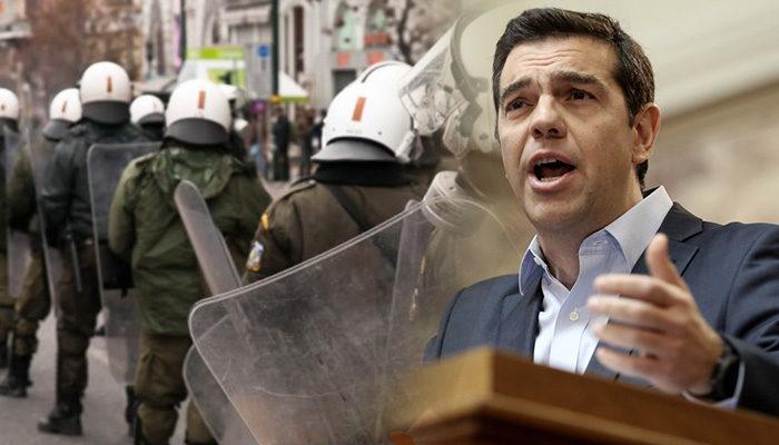 Μυτιλήνη: 17 διμοιρίες ΜΑΤ θα φυλάνε τον Τσίπρα