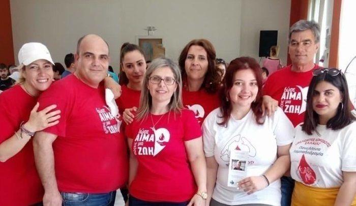 Ευχαριστήριο επιτροπής αιμοδοσίας Δήμου Διρφύων Μεσσαπίων